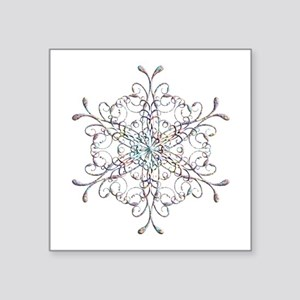 Iridescent Snowflake Sticker