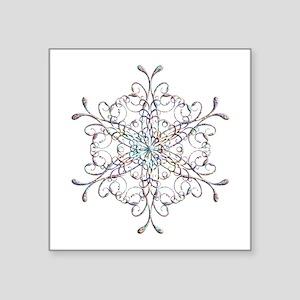 Iridescent Snowflake Sticker