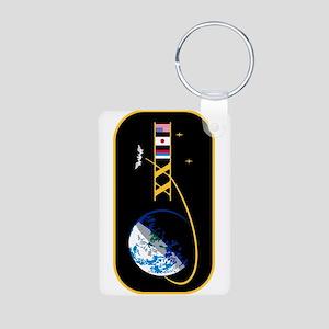 Expedition 23 Aluminum Photo Keychain