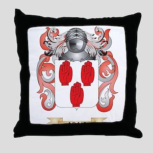 Adair Coat of Arms Throw Pillow