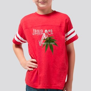 Jamaican Ganja Brown Youth Football Shirt