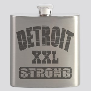 Detroit Strong Flask