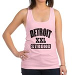 Detroit Strong Racerback Tank Top