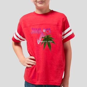 Jamaican Ganja Pink Youth Football Shirt
