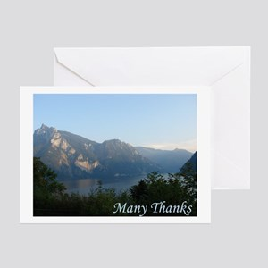 """Many Thanks"" Cards (Pk of 10)"