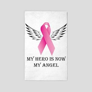My Hero is now My Angel Area Rug