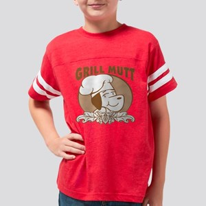 Grill Mutt Youth Football Shirt