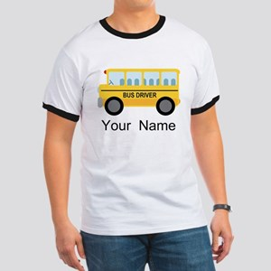 Personalized School Bus Driver Ringer T