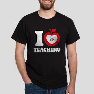 I Love Teaching Dark T-Shirt