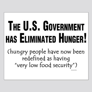 No More Hunger! Small Poster