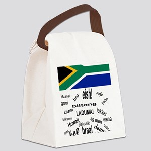 South African Slang Canvas Lunch Bag