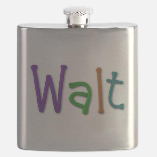 Walt Play Clay Flask