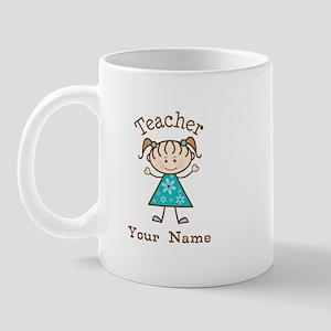 Personalized Teacher Gift Mug