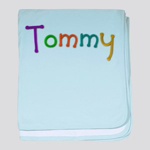 Tommy Play Clay baby blanket