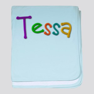 Tessa Play Clay baby blanket