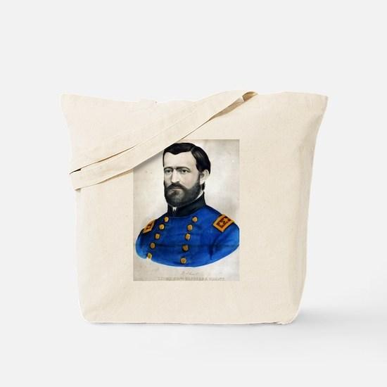 Lieut. Genl. Ulysses S. Grant - 1907 Tote Bag