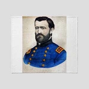 Lieut. Genl. Ulysses S. Grant - 1907 Throw Blanket
