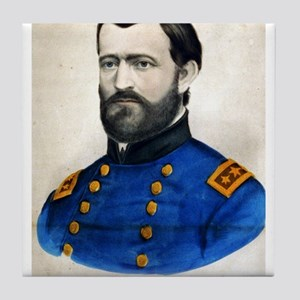 Lieut. Genl. Ulysses S. Grant - 1907 Tile Coaster