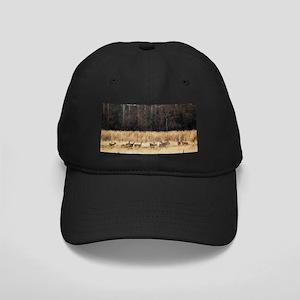 Winter Deer Herd Black Cap