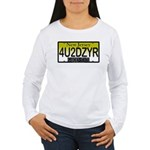 4U2DZYR Women's Long Sleeve T-Shirt