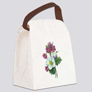 Redoute Bouquet Canvas Lunch Bag