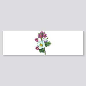 Redoute Bouquet Sticker (Bumper)