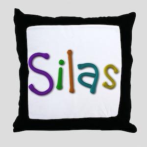 Silas Play Clay Throw Pillow