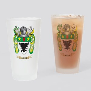 Aiken Coat of Arms Drinking Glass