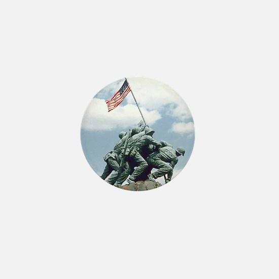 Marine Corps Memorial Iwo Jima Mini Button