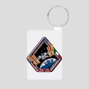 Expedition 26 Aluminum Photo Keychain