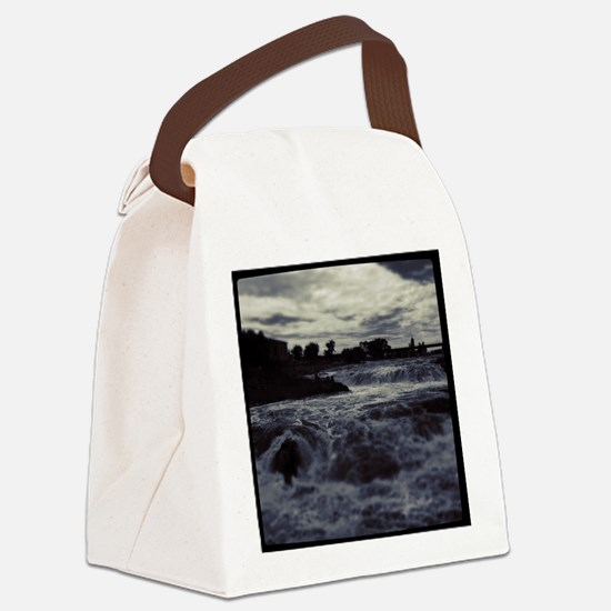 The Falls Canvas Lunch Bag