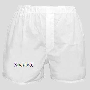 Scarlett Play Clay Boxer Shorts