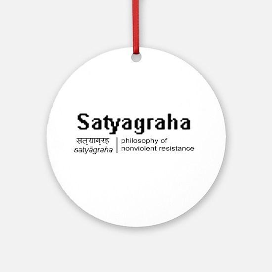 Satyagraha Ornament (Round)
