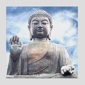 Buddha Statue Tile Coaster