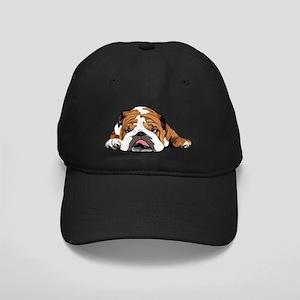 Teddy the English Bulldog Black Cap