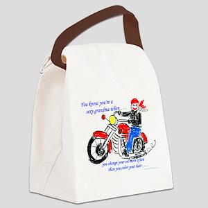 sexygrama3 Canvas Lunch Bag