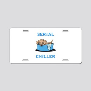 Mtn Cur Serial Chiller Aluminum License Plate
