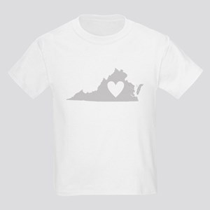 Heart Virginia Kids Light T-Shirt