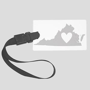 Heart Virginia Large Luggage Tag