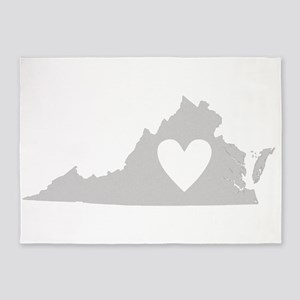 Heart Virginia 5'x7'Area Rug