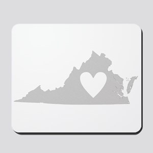 Heart Virginia Mousepad