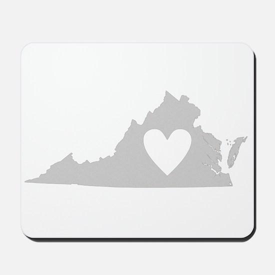 Heart Virginia Mousepad