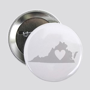 "Heart Virginia 2.25"" Button"