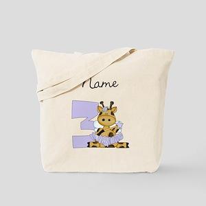 Ballerina Fairy Giraffe 3 Tote Bag
