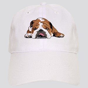 Teddy the English Bulldog Baseball Cap