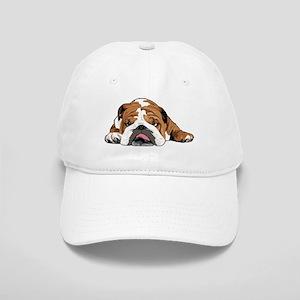 Teddy the English Bulldog Baseball Cap