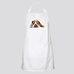 Teddy the English Bulldog Apron
