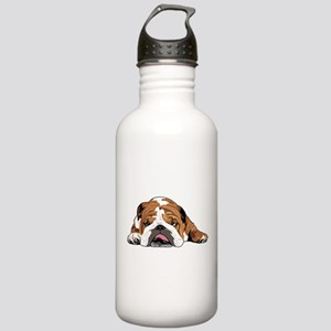 Teddy the English Bulldog Water Bottle