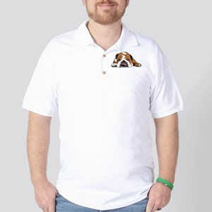 Teddy the English Bulldog Golf Shirt