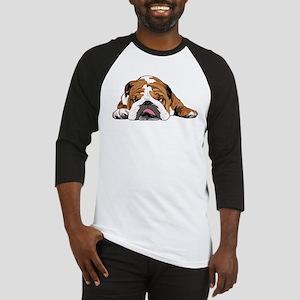 Teddy the English Bulldog Baseball Jersey
